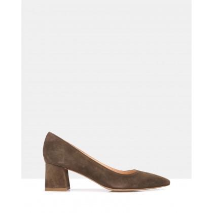 Toga Heels Brown by Zk Footwear