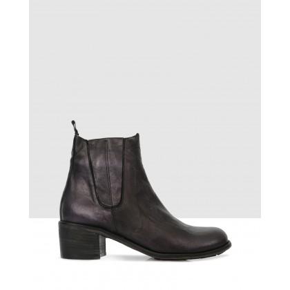 Ramona Ankle Boots Profondo by Sempre Di