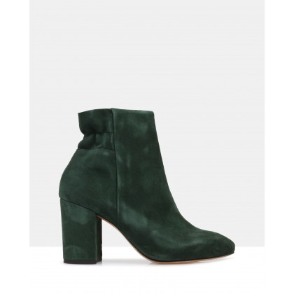 Wynonna Ankle Boots Green by Sempre Di