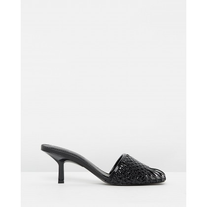 Jara Black Patent by Sigerson Morrison