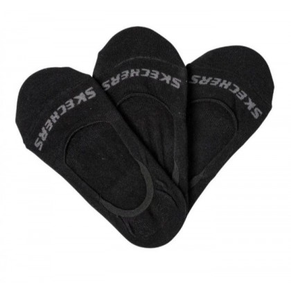 Black - Boys' 3 Pack Non Terry No Show Socks