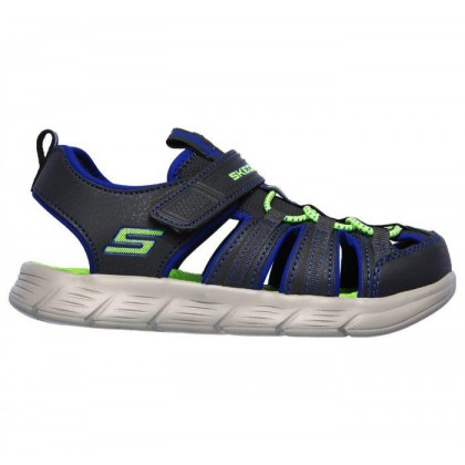 Charcoal/Royal - Boys' C-Flex Sandal