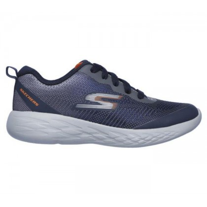 Navy/Charcoal - Boys' Skechers GOrun 600 - Haddox