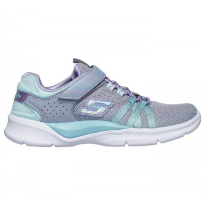 Grey/Turquoise - Girls' Tech Groove - Sparkle Dazzler