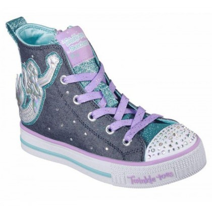 Denim/Multi - Girls' Twinkle Toes: Twinkle Lite - Magnificent Mermaid