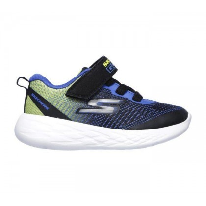 Black/Blue/Lime - Infant Boys' Skechers GOrun 600 - Farrox