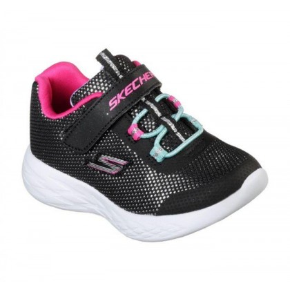 Black/Multi - Infant Girls' Skechers GOrun 600 - Sparkle Runner