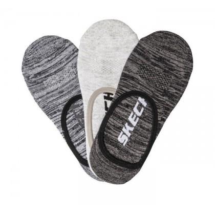 Medium Combo - Men's 3 Pack 1/2 Terry Free Run Liner Socks