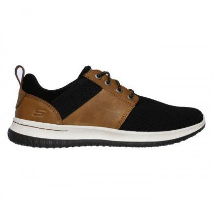 Brown/Black - Men's Delson - Brant Wide Fit