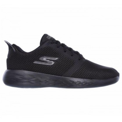Black/Black - Men's Skechers GOrun 600 - Refine
