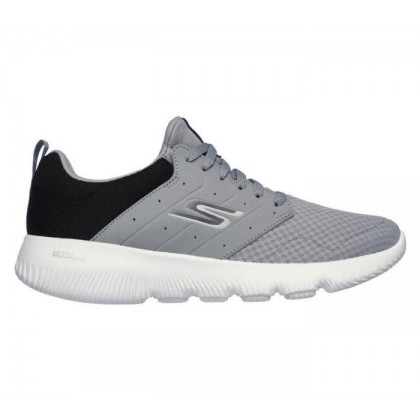 Grey/Black - Men's Skechers GOrun Focus - Athos