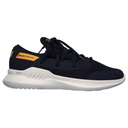 Navy/Yellow - Men's Skechers Gorun MOJO 2.0 - Endurable