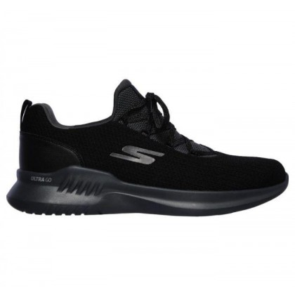 Black/Charcoal - Men's Skechers GOrun Mojo 2.0 - Lucite