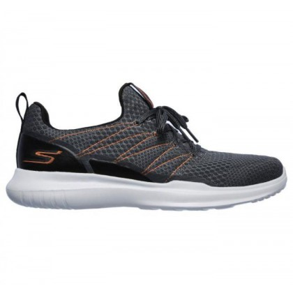Charcoal/Orange - Men's Skechers GOrun Mojo - Radar