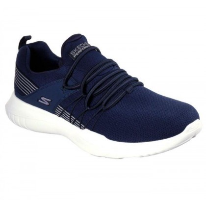 Navy - Men's Skechers GOrun Mojo - Reactivate