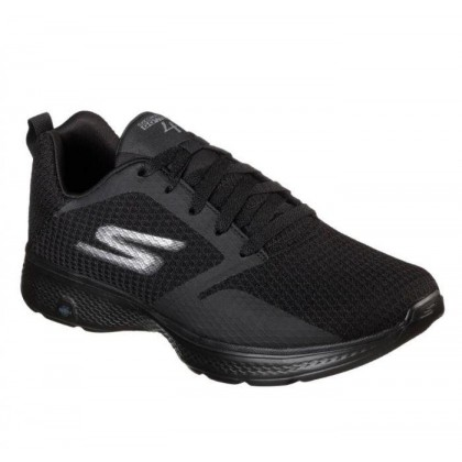 Black/Black - Men's Skechers GOwalk 4 - Admiral