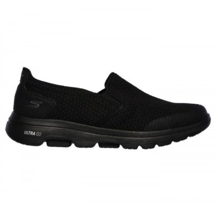 Black/Black - Men's Skechers GOwalk 5 - Apprize