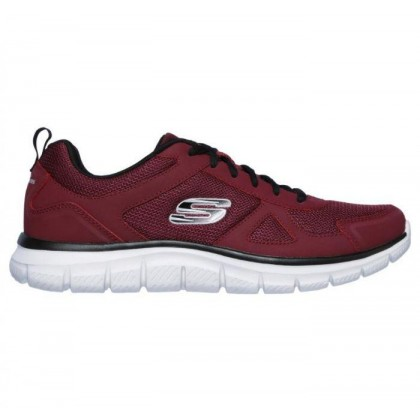 Burgundy/Black - Men's Track - Scloric