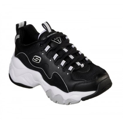Black White - Women's D'Lites 3