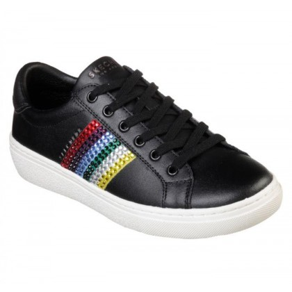Black - Women's Goldie - Rainbow Rockers