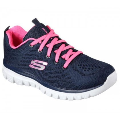 Navy Hot Pink - Women's Graceful - Get Connected
