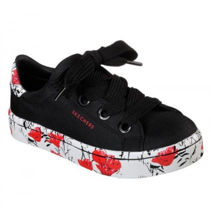 Black - Women's Hi-Lites - Flower Field