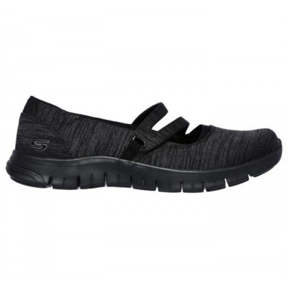 Black/Black - Women's Relaxed Fit: EZ Flex Renew - Make It Count