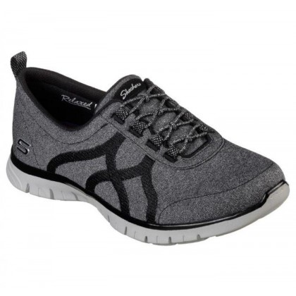 Black/Grey - Women's Relaxed Fit: EZ Flex Renew