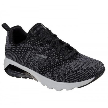 Black/Grey - Women's Skech-Air Extreme - Not Alone
