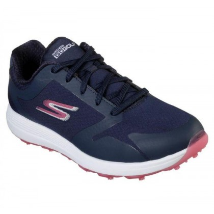 Navy/Pink - Women's Skechers GO GOLF Eagle - Relaxed Fit