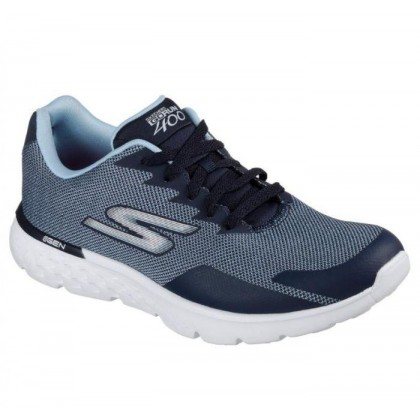 Navy - Women's Skechers GOrun 400 - Launch