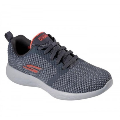 Charcoal/Coral - Women's Skechers GOrun 600 - Flux