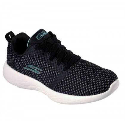 Black Aqua - Women's Skechers GOrun 600 - Flux