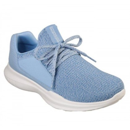 Light Blue - Women's Skechers GOrun Mojo - Inspirate