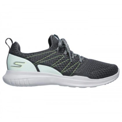 Charcoal Aqua - Women's Skechers GOrun Mojo - Radar