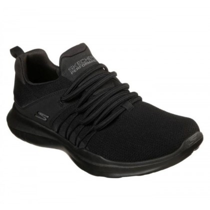 Black/Black - Women's Skechers GOrun Mojo - Reactivate