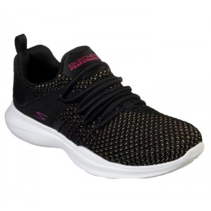 Black/Multi - Women's Skechers GOrun Mojo - Upswing