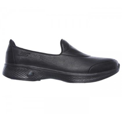 Black/Black - Women's Skechers GOwalk 4 - Desired