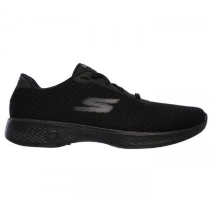 Black/Black - Women's Skechers GOwalk 4 - Glorify