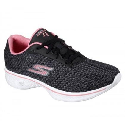 Black Pink - Women's Skechers GOwalk 4 - Glorify