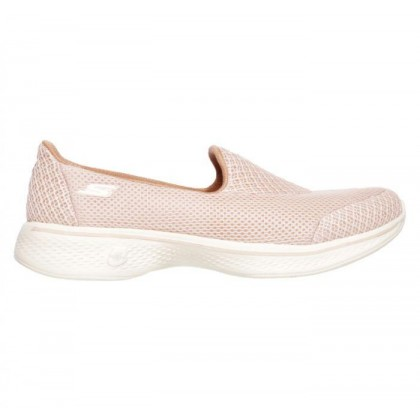 Light Pink - Women's Skechers GOwalk 4 - Propel
