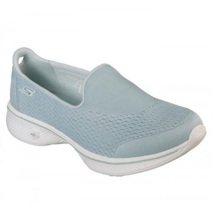 Light Blue - Women's Skechers GOwalk 4 - Pursuit