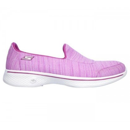Purple - Women's Skechers GOwalk 4 - Satisfy