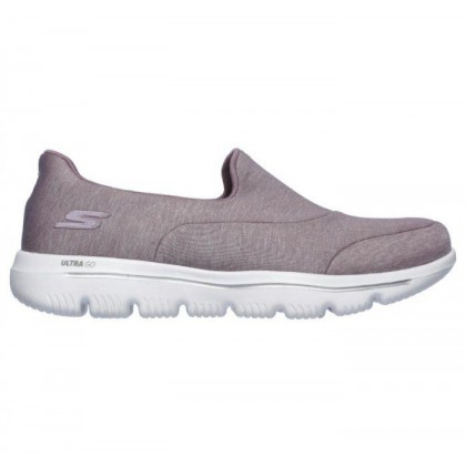 Mauve - Women's Skechers GOwalk Evolution Ultra - Amazed