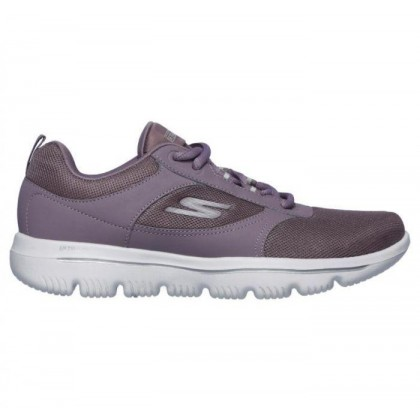 Mauve - Women's Skechers GOwalk Evolution Ultra - Enhance