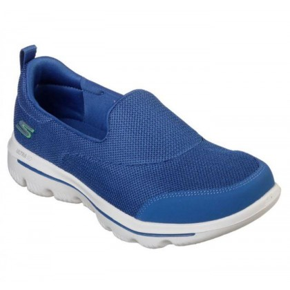 Blue - Women's Skechers GOwalk Evolution Ultra - Reach