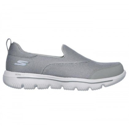 Grey - Women's Skechers GOwalk Evolution Ultra - Reach