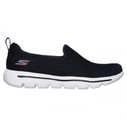 Navy White - Women's Skechers GOwalk Evolution Ultra - Reach