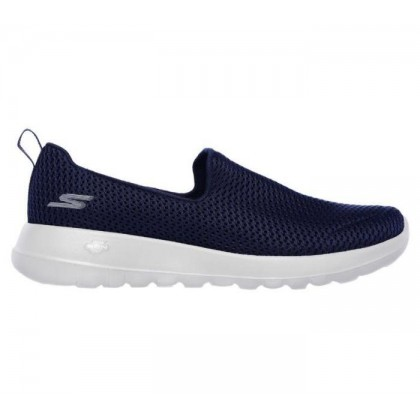 Navy/White - Women's Skechers GOwalk Joy