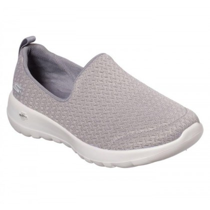 Grey - Women's Skechers GOwalk Joy - Rejoice
